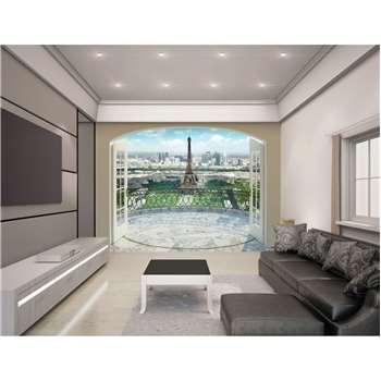 Walltastic Eiffel Tower Paris Wallpaper Mural