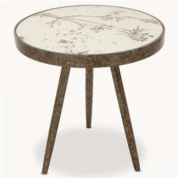 Waltham Tray Table with Cow Parsley Pattern (61 x 60cm)