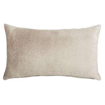 WAREGEM - Gold Cotton Cushion Cover (H30 x W50cm)