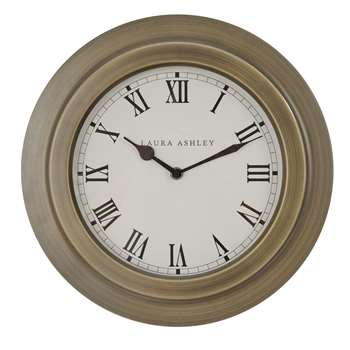 Warwick Porthole Clock (H37 x W37 x D5.5cm)