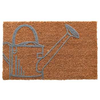 Watering Can Doormat (H40 x W60 x D1.5cm)