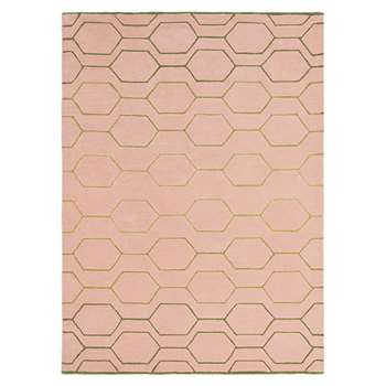 Wedgwood - Arris Rug - Pink (H120 x W180cm)