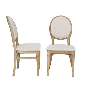 Wellington Pair Of Dining Chairs (H98 x W47 x D53cm)