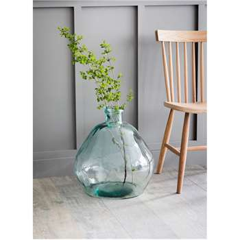 Wells Bubble Vase, Wide XXL - Recycled Glass (50 x 45cm)