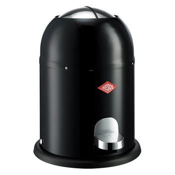 Wesco - Single Master Bathroom Bin - Black (H40 x W30 x D30cm)
