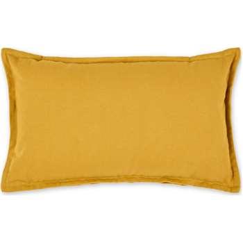 Wespa Cotton Cushion, Mustard (H30 x W50cm)
