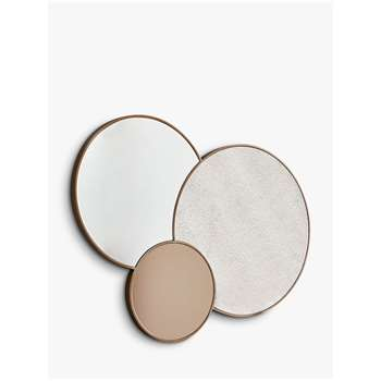 west elm Foxed Trio Mirror (H94.2 x W122 x D3.1cm)