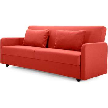 Weston Sofa Bed, Mars Orange (88 x 210cm)