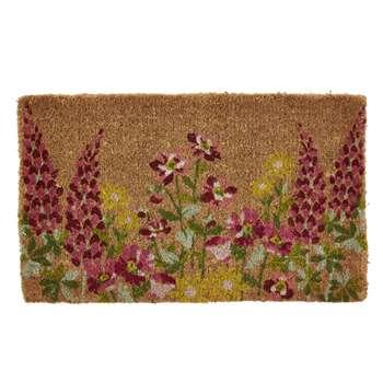 Wild Meadow Floral Doormat (43 x 73cm)