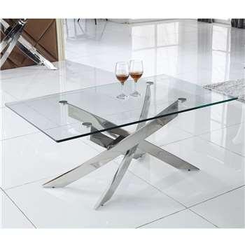 Wilkinson Furniture Kalmar Glass Coffee Table (Width 120cm)