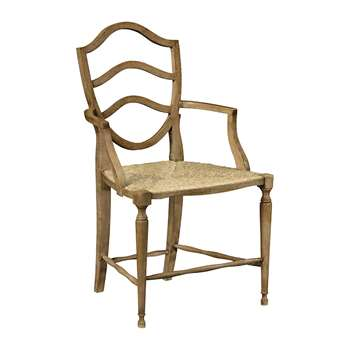 William Yeoward - Bodiam Armchair - Washed Oak (H95.2 x W55 x D58cm)