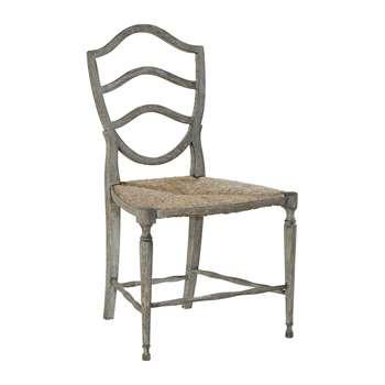 William Yeoward - Bodiam Side Chair - Greyed Oak (H95.2 x W55 x D58cm)
