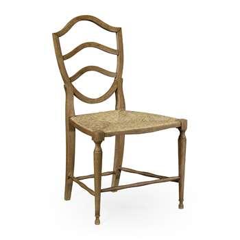 William Yeoward - Bodiam Side Chair - Washed Oak (H95.2 x W55 x D8cm)