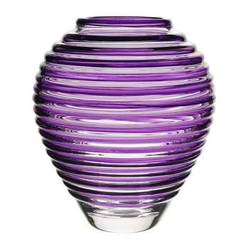 William Yeoward - Circe Amethyst Vase (Height 28cm)