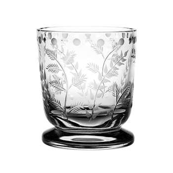 William Yeoward Crystal - Fern Footed Vase (11.5 x 10cm)