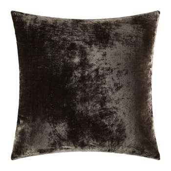 William Yeoward - Paddy Velvet Cushion - Espresso (H50 x W50cm)