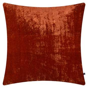 William Yeoward - Paddy Velvet Cushion - Poppy (H50 x W50cm)