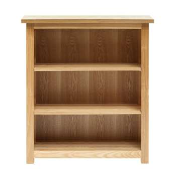 Willis & Gambier Ash denver Small Bookcase, Light Brown (97 x 86cm)