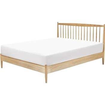 Willow Kingsize Bed, Oak (105 x 160.5cm)