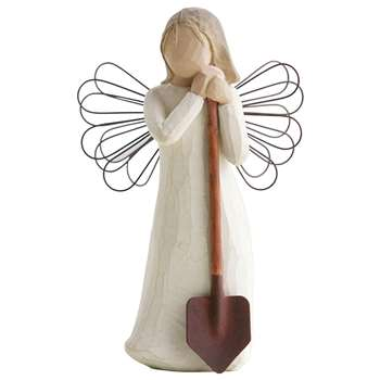 Willow Tree - Angel of the Garden - Figurine (H14 x W9 x D7cm)