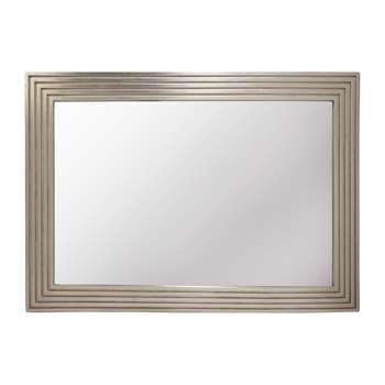 Wilson Champagne Rectangular Mirror (H88 x W60cm)