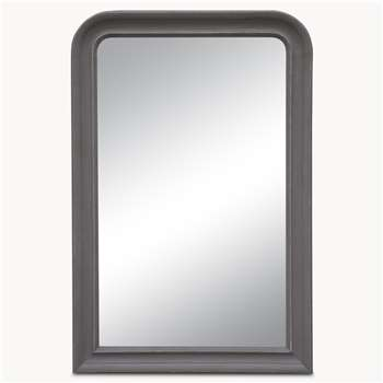 Wilton Large Grey Beveled Mirror (H150 x W100cm)