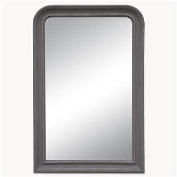 Wilton Large Grey Beveled Mirror (H150 x W100cm)