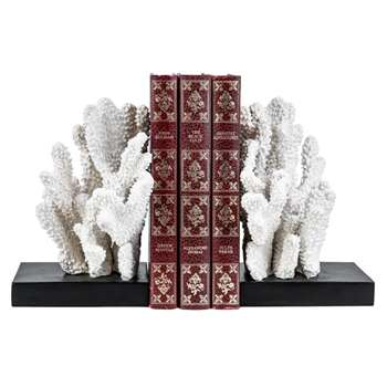 Windley Key Coral Book End Set (H18 x W20 x D12cm)