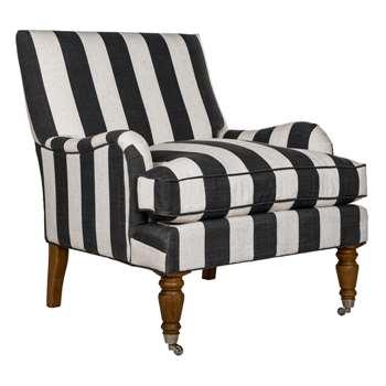 Windsor Arm Chair-Broad Stripe (88 x 79cm)