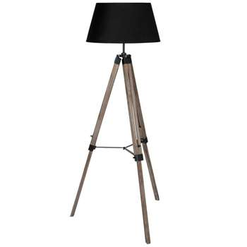 Windsor Tripod Floor Lamp (H145 x W66 x D66cm)