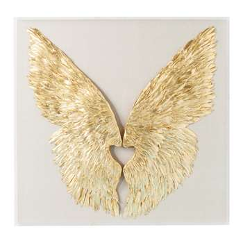 Wings feather art (120 x 120cm)