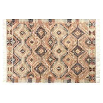 WINONA Multicoloured Wool Kilim Rug (H160 x W230 x D2cm)
