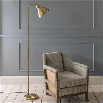 Winslow Brass Floor Lamp (155 x 22cm)