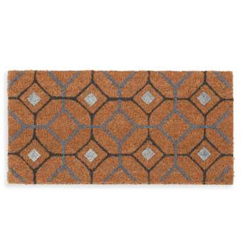 WITMAN - Tile Print Doormat (H30 x W60cm)