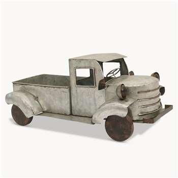 Witney Vintage Metal Pickup Truck (Width 30cm)