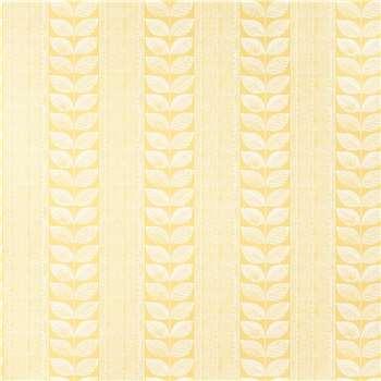Woodblock Leaves Sunshine Wallpaper