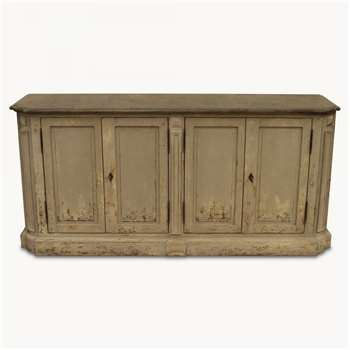 Woodcroft Colonial Grey Sideboard with Stone Top (85 x 182.5cm)