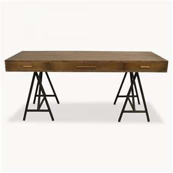 Woodcroft Desk on Trestle Legs (78 x 180cm)