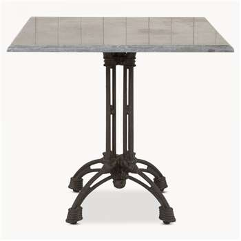 Woodcroft Iron Side Table (77 x 80cm)