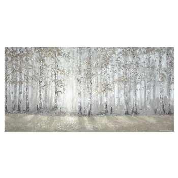 Woodland Sunrise Print Canvas (60 x 120cm)