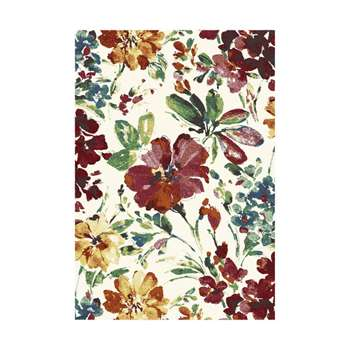 Woodstock Floral Patterned Multi Rug (H133 x W195cm)