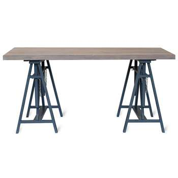 Workshop Trestle Desk (H75 x W160 x D80cm)