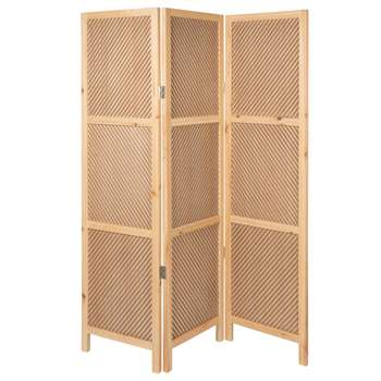 Woven Room Divider (H160 x W126 x D4cm)