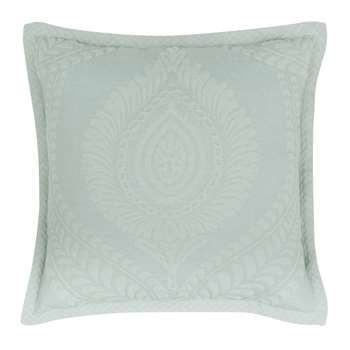 WYTE - Green Cushion Cover with Print (H40 x W40cm)
