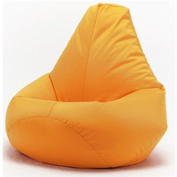 XX-L Yellow Highback Beanbag Chair Water resistant Bean bags for indoor and Outdoor Use, Great for Gaming chair and Garden Chair