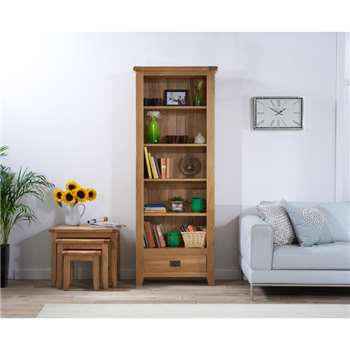 Yateley Oak Bookcase (195 x 75cm)