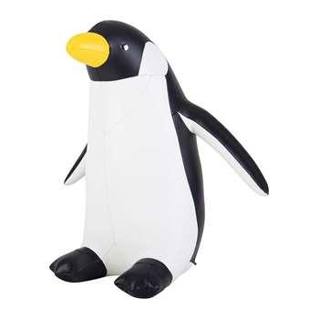 Züny - Penguin Door Stop - Black & White (H31 x W30 x D20cm)
