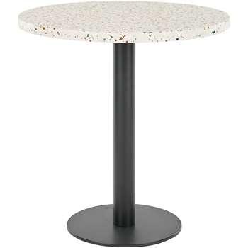 Zac Garden Bistro Table, Terrazzo (76 x 70cm)