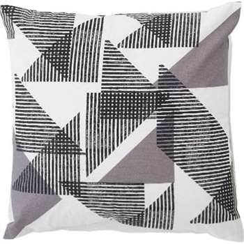 Zander Cushion, Grey (45 x 45cm)
