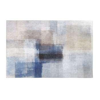 ZANDWEG - Multicoloured Patchwork-Effect Rug (H140 x W200 x D2cm)